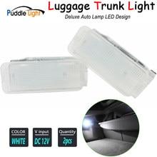 Внутренняя светодиодная лампа, дверной светильник, светильник для багажника Boot Footwell, бардачок, светильник для Peugeot Expert MK3 RCZ 807 806 5008 407 408 3008