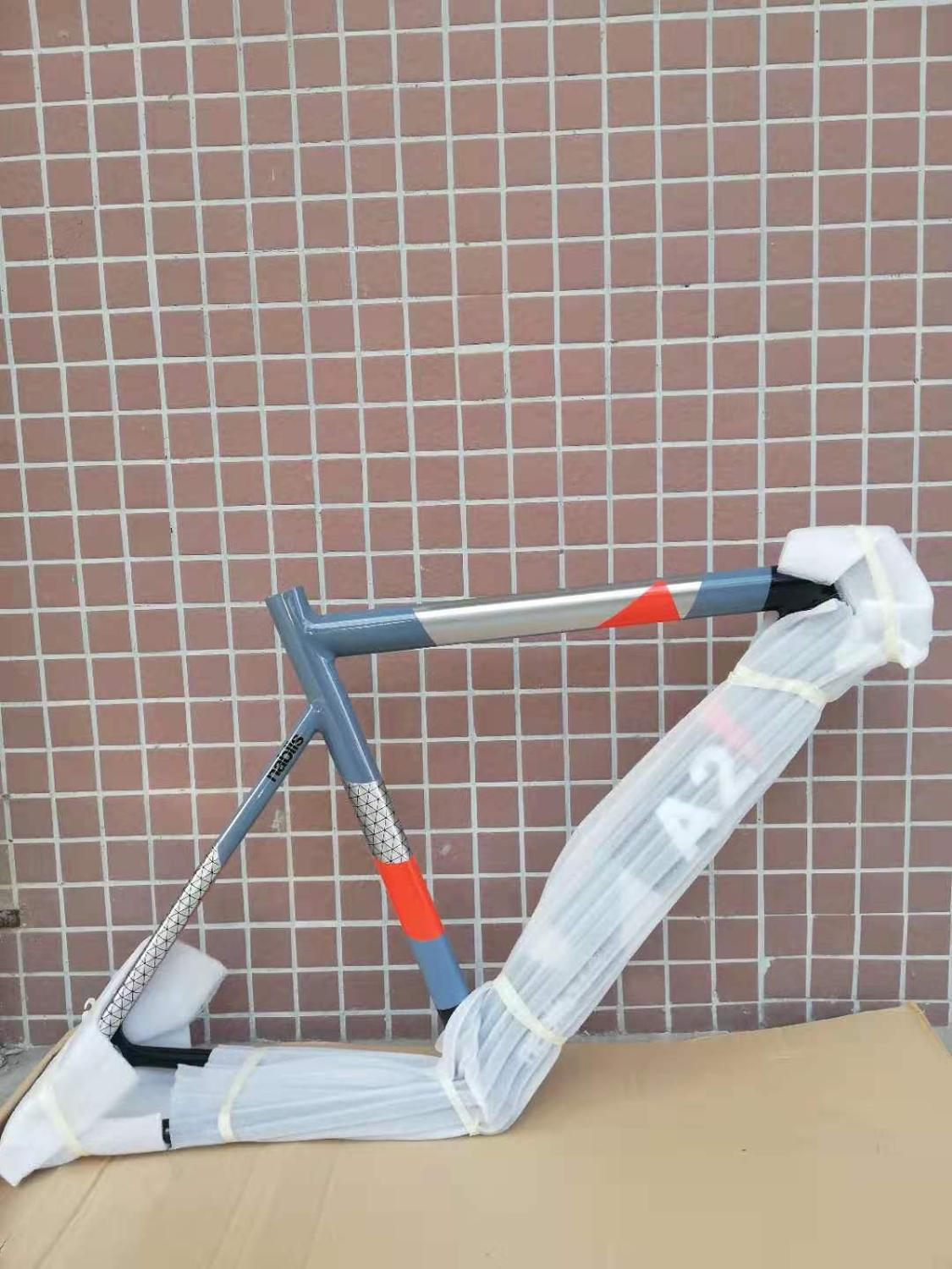 Bicycle-Parts Fork Fixed-Gear-Frame Track 700c Aluminum Last 1600g 51cm 53cm High-Quality title=