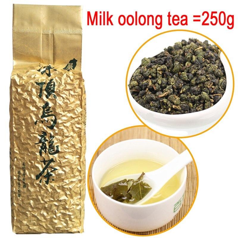 Milk Oolong Tea Beauty Weight Loss Lowering Blood Pressure High Mountains JinXuan Milk Oolong Tea Chinese Taiwan Fresh Green Tea