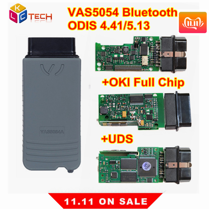 Russion Stock!VAS 5054 BT ODIS V4.41/5.1.3 5.13 Version Support UDS Protocol VAS5054 OKI Chip Diagnostic Tool Vas5054a Vas 5054a