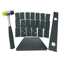 Multiple Laminate Wood Flooring Installation Kit with Mallet Spacers Pull Bar Tapping Block 22pcs/23pcs/33pcs/43pcs