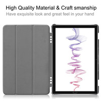 leather flip Case For Huawei Mediapad M6 10.8 2019 PU Leather Flip Stand Cover Shell Shockproof Tablet Case Flip Stand Protective Cover KS047 (2)