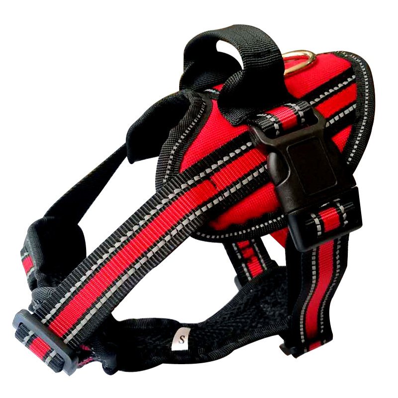 New Nylon Dog Harness Reflective  Collar Personalized Large Collars for Small Medium Animals