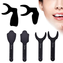 6 Styles Optional Dental Orthodontic Photo Contrast Black Background Board Palatal Photography Autoclavable Dentist Tools one piece 6 dental contraster oral black background board photography six types for choose
