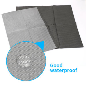 Image 4 - Newest 25Pcs Disposable Tattoo Clean Pad Waterproof Medical Paper Tablecloths Mat Double Layer Sheets Tattoo Accessories 45*33cm