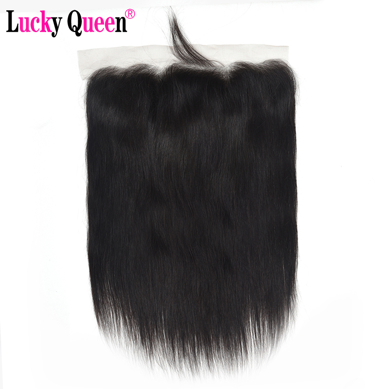Brazilian Straight Human Hair 13 4 Ear to Ear Lace Frontal with Baby Hair Free Part