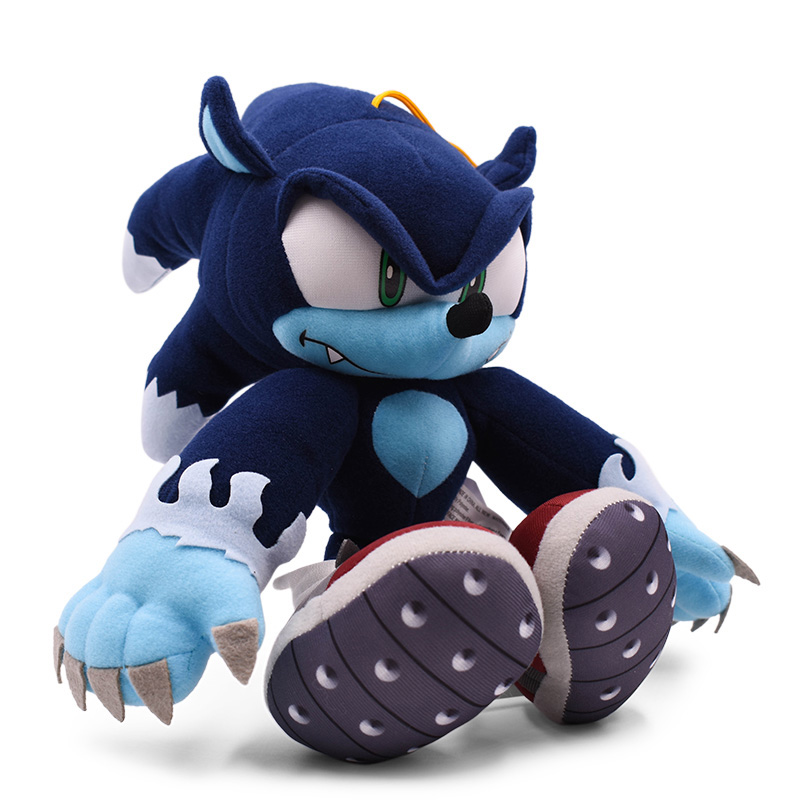 Sonic the wilkołak miękka lalka Cartoon zwierząt nadziewane Peluche pluszowa zabawka świąteczny prezent dla dzieci