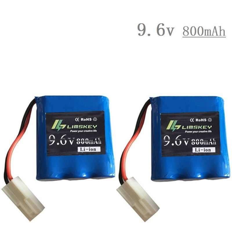 EL-2P Plug 9.6V Battery charger untuk JYRC S911 9115 9116 S912 rc Mobil Peningkatan suku cadang baterai Double kabel baru Battery 800mah