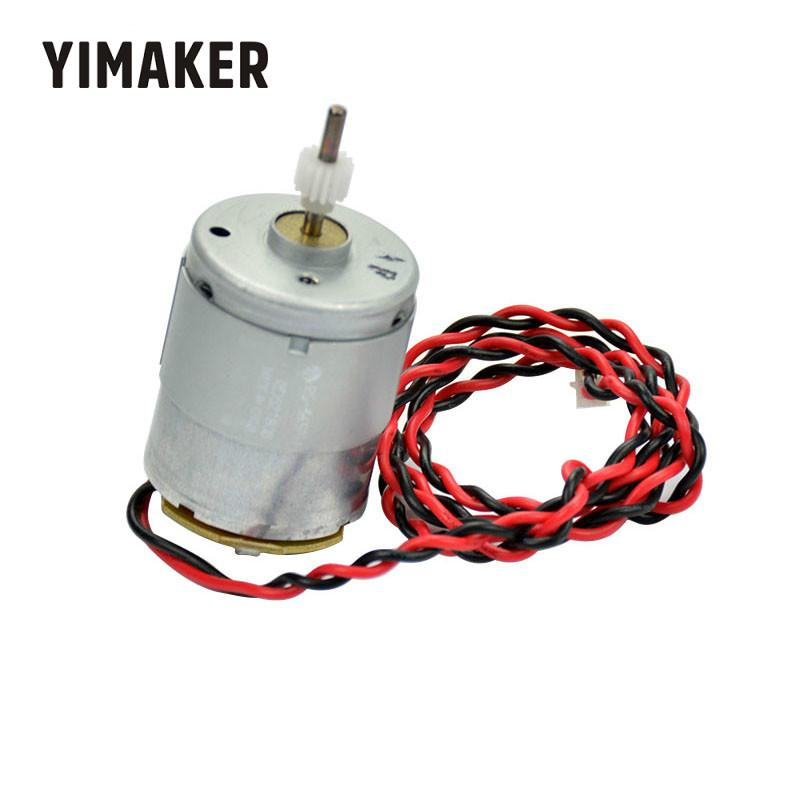 YIMAKER 24V Mabuchi <font><b>RS</b></font> 365 DC <font><b>Motor</b></font> 8000RPM Used For Hair Dryer <font><b>Motors</b></font> With Wire Gear Free image