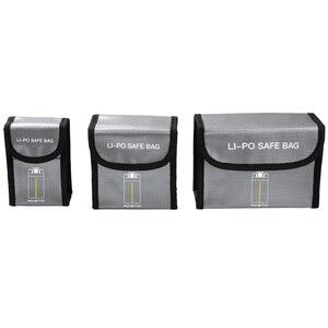 Image 2 - Взрывозащищенная сумка Mavic Mini для аккумулятора, Защитная сумка для хранения для аккумуляторов DJI Mavic Mini