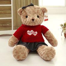 цена на Factory Direct Teddy Bear Doll Plush Teddy Bear Large Doll GIRL'S Huggable Bear Doll
