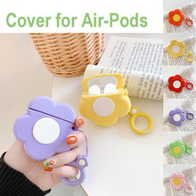Silicone Anti-lost Protective Cover Skin Case For Apple Air Pods1/2 Charging Case Earphone Accessories High Quality Selling(China)