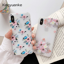 Leaves Flowers Phone Cases For iphone XR