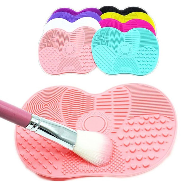 Hot Silicone Cleaning Cosmetic Make Up Washing Brush Gel Cleaner Scrubber Tool Foundation Makeup Cleaning Mat Makeup Tool Kits