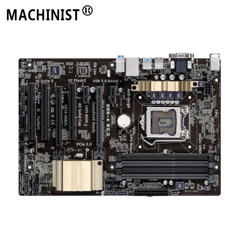 For ASUS B85-A R2.0 Desktop Motherboard MB Intel B85 LGA 1150 ATX DDR3 32GB SATA3.0 USB3.0 100% Fully Tested Free Shipping