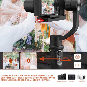 Image 3 - Hohem iSteady Multi 3 Axis Handheld Gimbal Stabilizer for Sony RX100 M2~M7 Digital Camera Action Camera Smartphone PK Crane M2
