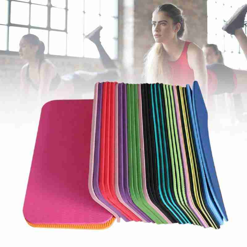 1pc Yoga Mat Knee Pad Non-slip Anti Slip Moisture-resistant Yoga Mats For Beginner Environmental Fitness Workout Mats
