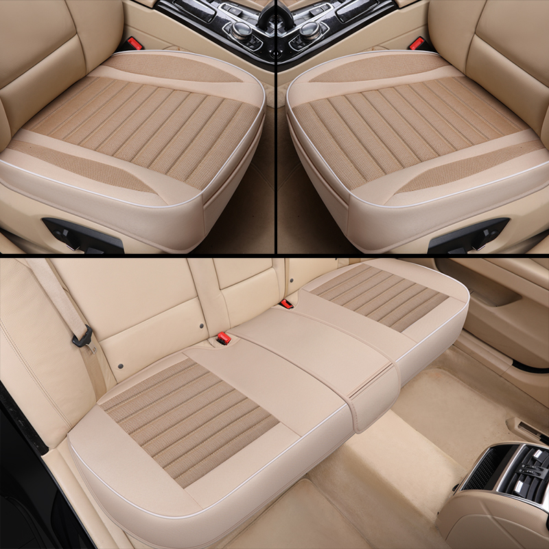 Ultra-Luxury Single Seat without Backres Car seat Protection car seat Cover Car-Styling for Most Four-Door Sedan&SUV