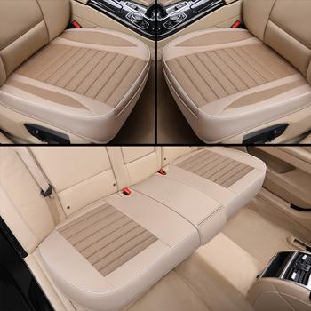 Ultra-luksusowe pojedyncze siedzenie bez oparcia fotelik samochodowy fotelik samochodowy stylizacja samochodu dla większości czterodrzwiowych sedanów i SUV tanie i dobre opinie AiYuJi Cztery pory roku 52cm Pokrowce i podpory 0 5kg Podstawową Funkcją 51cm Car universal