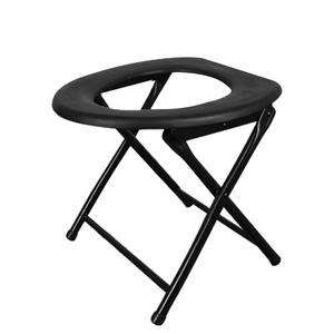 Image 5 - Portable Strengthened Foldable Toilet Chair Travel Camping Climbing Fishing Mate Chair Outdoor Activity Accessories