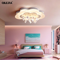 Simple modern ceiling lamp master bedroom lamp creative personality cloud lighting boy girl children room ceiling lamp