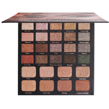 ICYCHEER 28 Colors Charming Eyeshadow Palette Make up Matte Shimmer Metallic Pigmented Wet Dry Eye Shadow Powder