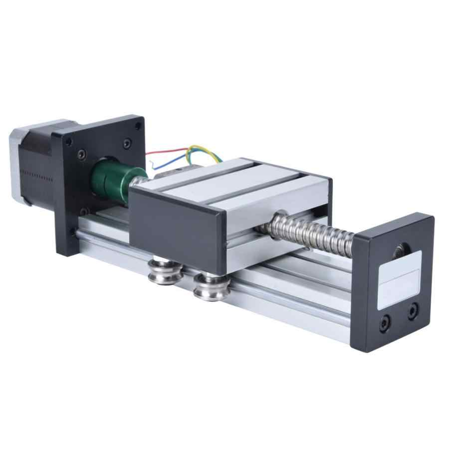 1PC 300mm Ball Lead Screw Slide Linear Guide Single Shaft Guide Stage Stroke with 57 Motor linear ball bearing