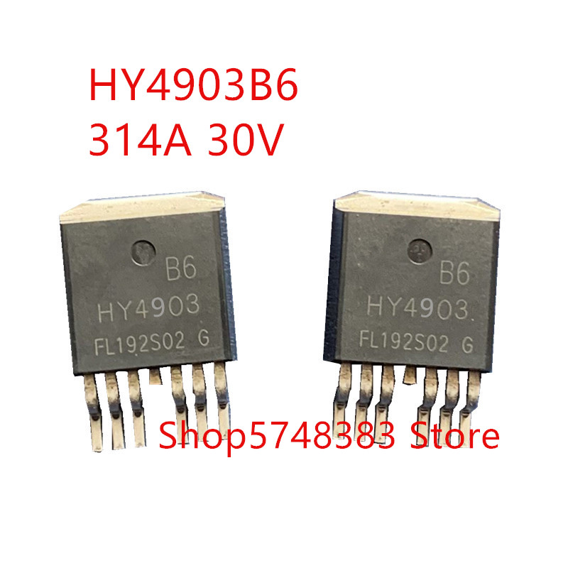 10PCS/LOT 100% New Original HY4903B6 HY4903 TO-263 30V/314A 268W MOS Tube