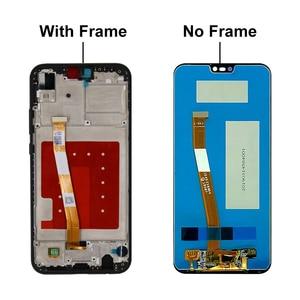 "Image 4 - Tela de 5.84 ""para huawei p20 lite, display lcd para huawei p20 lite tela ANE LX1 ANE LX3 nova 3e lcd peças de montagem"