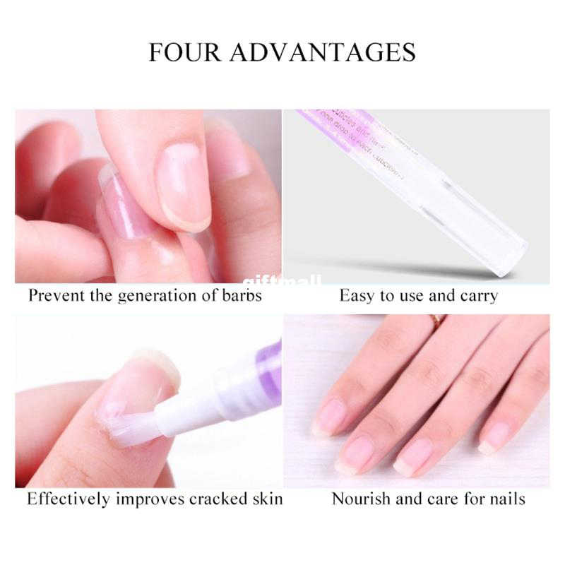15color Fruit Smell Keratin Oil Pen Nail Nutrition Oil Pen  Health Nail Softener Pen Nourish Repair Nail Care Tool Cosmetic