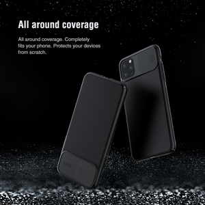 Image 5 - NILLKIN for iPhone 11 Pro Max Case slide Cover for Camera Protection For iphone 11 case 2019 back cover for iPhone 11 Pro case