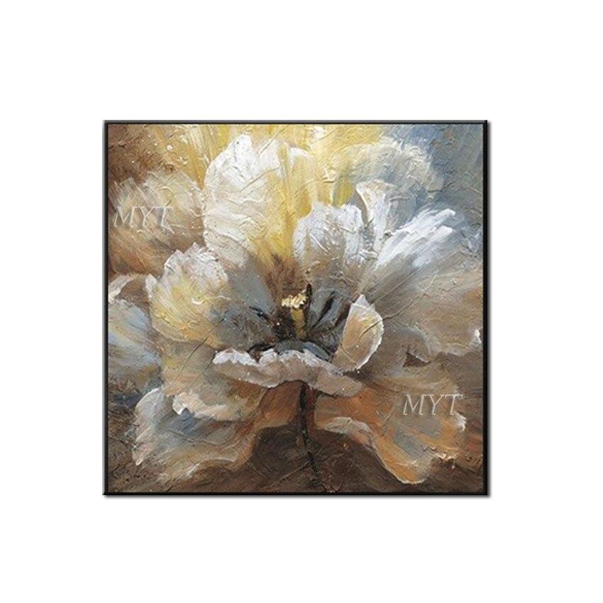 Style coloré fleur photo livraison gratuite fleur abstraite mur Art pour la décoration de la maison pas encadrée peinture à l'huile sur toile