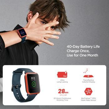 In Stock 2020 Global Amazfit Bip S Smartwatch 5ATM waterproof built in GPS GLONASS Smart Watch for Android iOS Phone 4