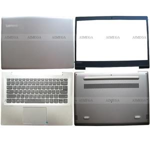 NEW Silver For Lenovo ideapad 520S-14 520S-14IKB 7000-14 Laptop LCD Back Cover/Front Bezel/Palmrest/Bottom Case