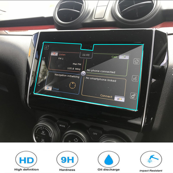 Tempered Glass Screen Protector For Suzuki Swift 2020 Car styling Navigation Steel Portective Auto Accessories image