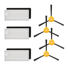 Vacuum Cleaner Foam Filters Side Brush Kits For Ecovacs Deebot N79 N79S Robotic Vacuum Cleaner Replacement Spare Parts