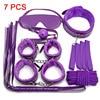 7 purple BDSM set