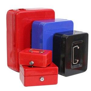 Image 4 - MINI Pettyเงินกล่องสแตนเลสสตีลล็อคปลอดภัยขนาดเล็กสำหรับตกแต่ง 3 ขนาด