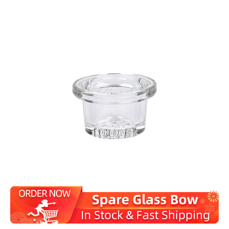 Kebo Freeze Pipe Spare Glass Bowl For Freeze Pipe/Freeze Pipe XL/ Freeze Pipe Bubbler Kit Clear Pyrex Glass