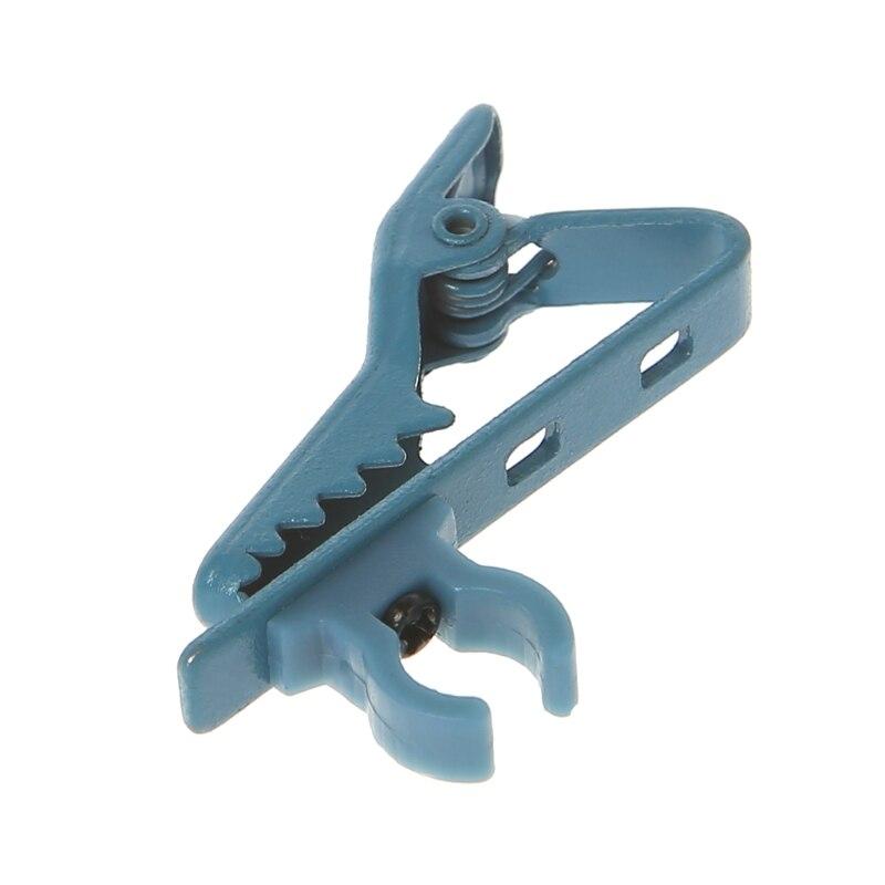 Универсальный микрофон нагрудный зажим для галстука мини зажим портативный используется для футболки воротник - Цвет: blue Bite