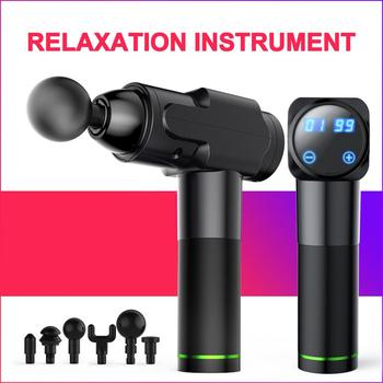 Muscle Deep Tissue Massage Device Handheld Cordless Percussion Massager Slimming Shaping For Deep Tissue Muscle Massage