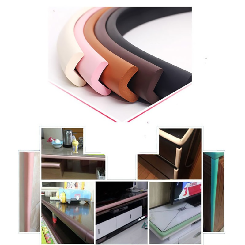 1PC 2M Baby Safety Table Desk Edge Guard Strip Home Cushion Guard Strip Safe Protection Children Bar Strip Soft Thicken