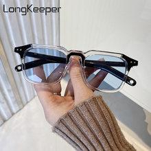 2020 Квадратные Солнцезащитные очки для женщин и мужчин брендовые