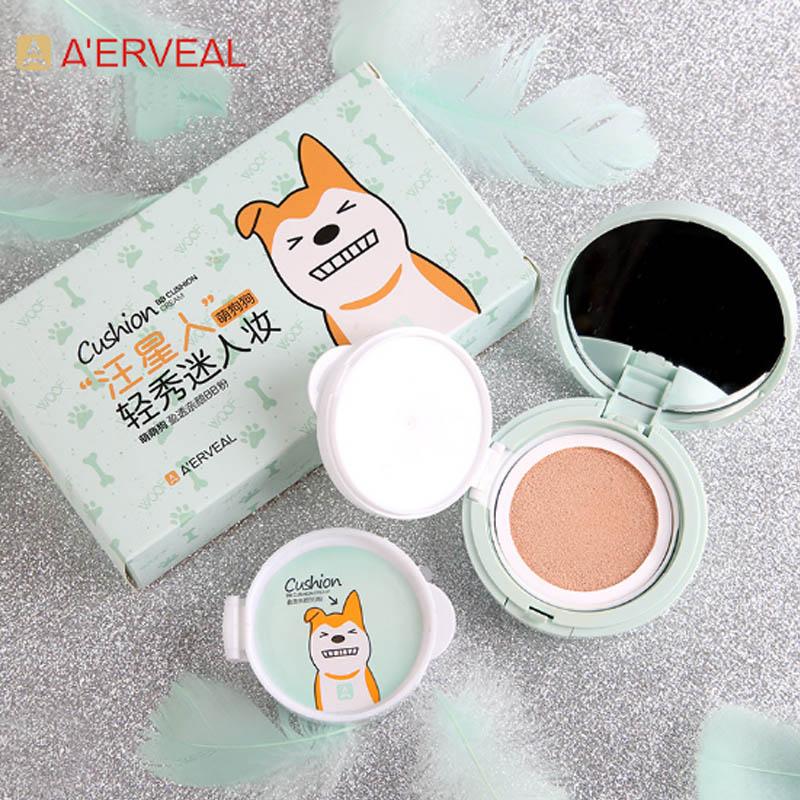 A'ERVEAL Brand Air Cushion BB Cream Concealer Moisture Isolation Waterproof Foundation Cream Beauty Makeup