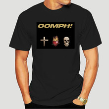 Groupe de Punk Hard Rock Metal OOMPH! Glaube Liebe Tod T-shirt homme Unisex-1027D(China)