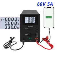 Adjustable Switching dc lab power supply Variable Regulated Power Modul Laboratory Power Source digital 60V 5A switch power