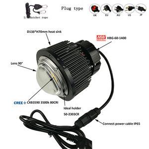 Image 5 - קריס CXB3590 COB LED לגדול מנורת מלא ספקטרום לבן אור 3000K/3500K/5000K/6500K עם Meanwell נהג HBG 60 1400