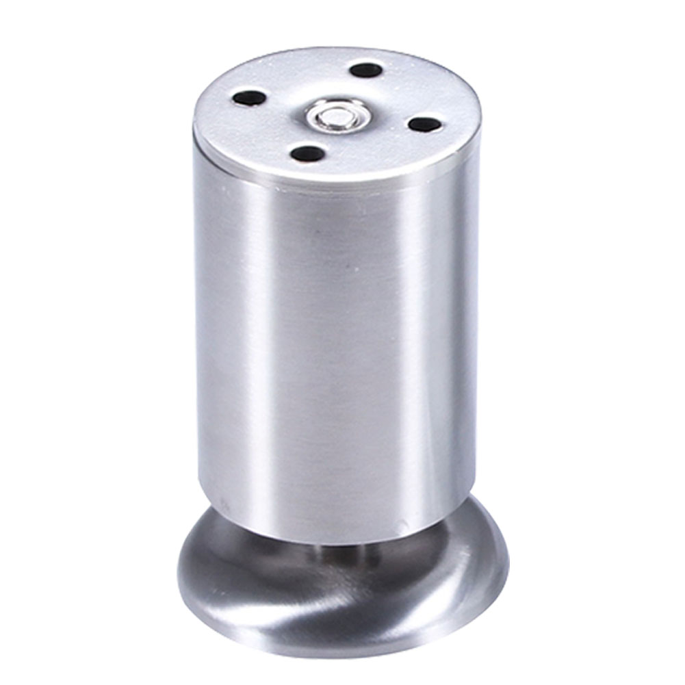 Furniture Leg Rustproof Round Screw Stable Bed Riser Adjustable Height Non Slip Stainless Steel Solid Cabinet Sofa Protective