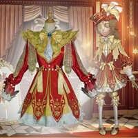 Disfraces de Cosplay de Game Identity V, ropa de piel de Narciso, trajes de chaqueta