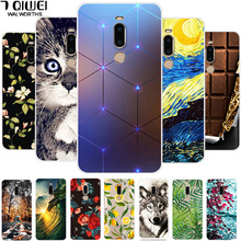 For Meizu M8 Case Covers Silicone Soft T